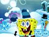 スポンジボブ-雪玉作り