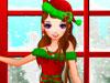 可愛いクリスマス美少女