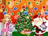 装飾クリスマス節ショーウインドー