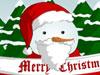 雪人クリスマスドレスアップ