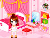 装飾小可愛いの寝室