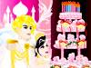 王子の為結婚ケーキを設計