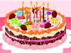 七彩ケーキ作り