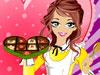 バレンタイン做幸せチョコレート