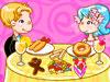 快楽夫婦享受美食