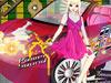 09美女ピンク花車展