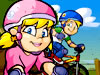 砂丘特技自転車