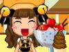黄猫アイスクリーム店