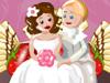 ロマンティック婚礼ケーキ