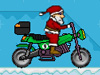 サンタ乗バイク