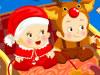 双子宝宝のクリスマス節