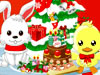 装飾クリスマス樹