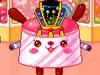 新年果物ケーキ