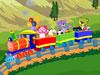 搭建玩具列車