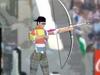 オリンピック弓箭手